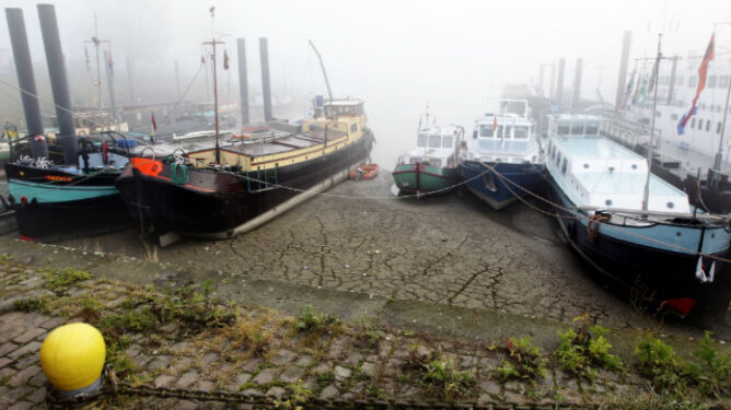 W Europie susza. Rzeki wysychają