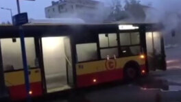 Awaria w autobusie w Warszawie