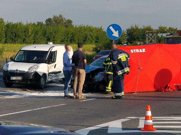 Do wypadku doszło w Tarczynie  Tomasz Zieliński, tvnwarszawa.pl