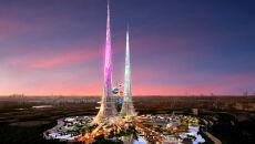 Olbrzymie wieże oczyszczą powietrze ze smogu. Będą wyższe niż dubajska Burdż Chalifa
