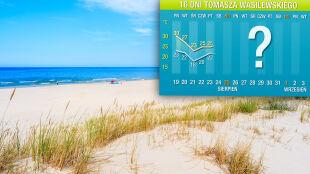 Prognoza pogody na 16 dni: solidne lato do końca sierpnia