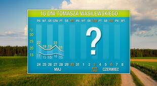 Pogoda na 16 dni: czasami będzie tylko 15 stopni