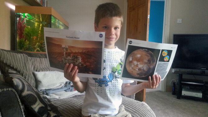 Ma siedem lat i chce być astronautą. Napisał do NASA i dostał odpowiedź