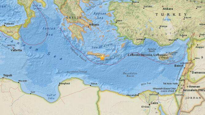 Na greckiej wyspie zatrzęsła się ziemia