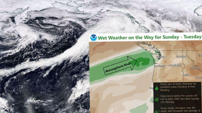 Ekspres ananasowy zmierza w kierunku USA. Niesie ze sobą ryzyko lawin i powodzi