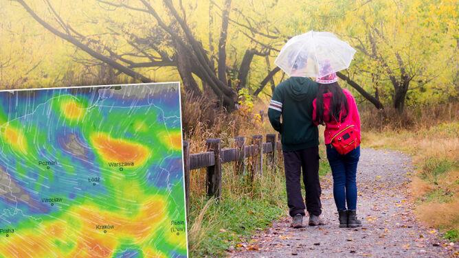 Ponuro, deszczowo, wietrznie, chłodno. <br />Jesień już nas nie rozpieszcza