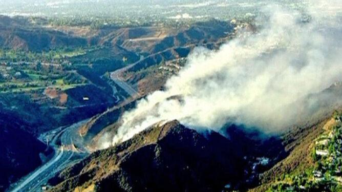 Płoną wzgórza Los Angeles. Domy bogaczy zagrożone
