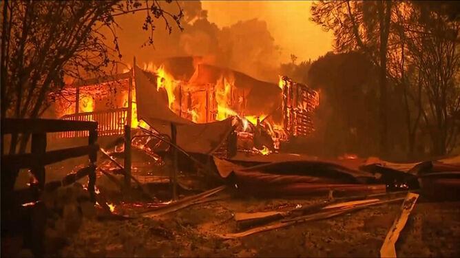 Flammagenitusy, suche burze, ogniste tornada. <br />Pożary tworzą w Australii nowy mikroklimat